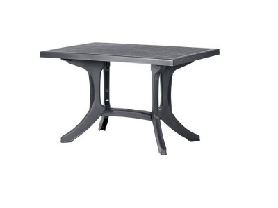 Пластиковый стол Леона серый