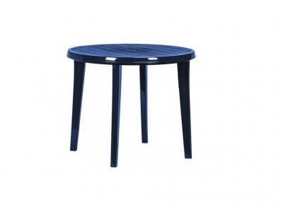 Пластиковый стол Лиса синий