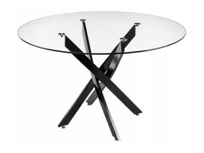 Стол стеклянный Komo 90 black