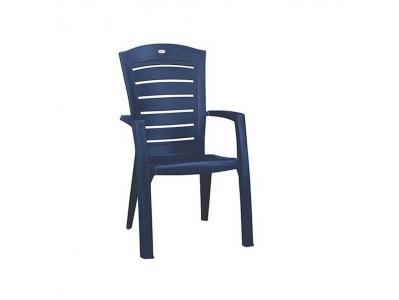 Стул пластиковый Лариса синий