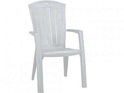 Стул пластиковый Санторини белый