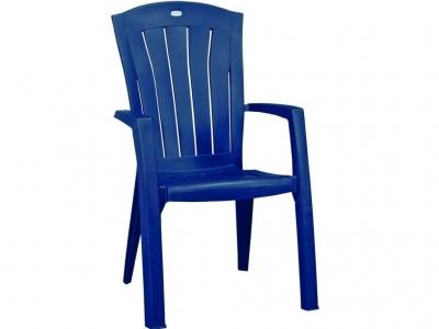 Стул пластиковый Санторини синий
