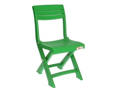 Стул пластиковый складной Тахома Бистро зелено-бежевый