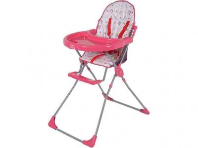 Стульчик для кормления Polini kids 152 розовый