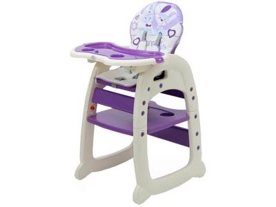 Стульчик для кормления Polini kids 460 фиолетовый