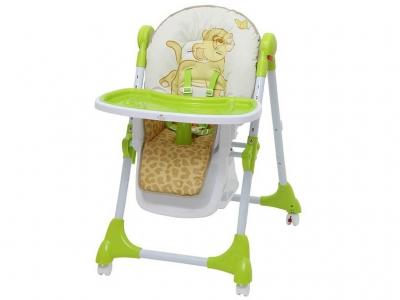 Стульчик для кормления Polini kids Disney baby 470 Король лев, зелёный