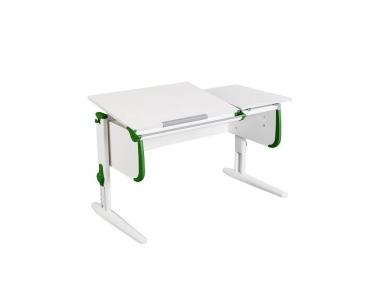 Парта СУТ-25 White зеленая