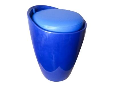 Табурет с местом для хранения Лого LM-1100 синий