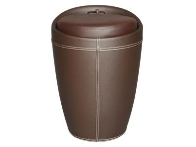 Табурет с местом для хранения Лого 100 HPVC коричневый