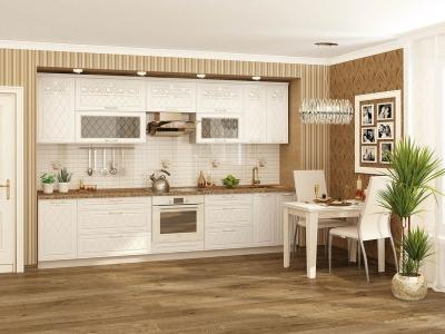 Модульная кухня Тиффани глиттер с кристаллами Swarovski