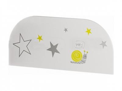 Защитный бортик ЗБ-01 Трио белый/звездное детство