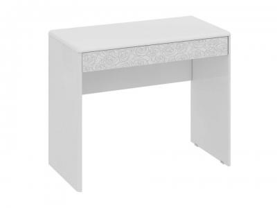 Туалетный столик Амели ТД-193.05.01 Белый глянец