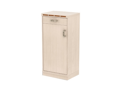 Тумба дверь с ящиком Кэри голд млечный дуб 478х390х1004