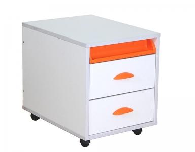 Тумба ТУВ.01-01 белый оранжевый