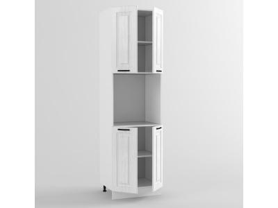 Пенал ПВТ двери 2140х600х576 Белый Вегас