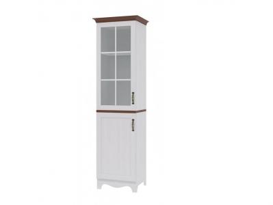 Шкаф-витрина левый Вентура ИД 01-39 472х578х2064