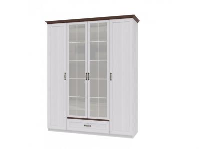 Шкаф для одежды 4-х дверный Вентура ИД 01-70 600х1812х2337
