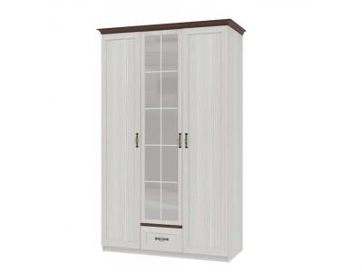 Шкаф для одежды 3-х дверный Вентура ИД 01-73 600х1378х2237