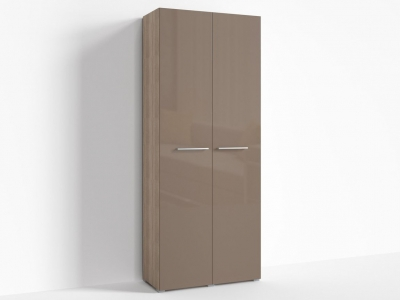 Шкаф Верба Г-ШС-2-1 900х520х2220 Капучино