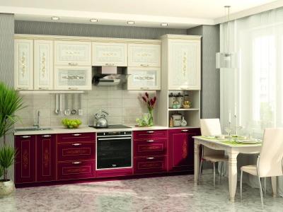 Модульная кухня Виктория с кристаллами Swarovski®