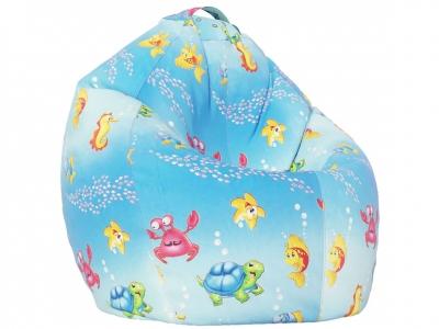 Кресло-мешок XL поплин Морская сказка