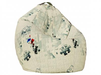 Кресло-мешок XL поплин Пазлы