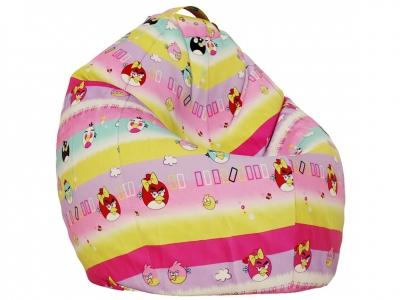 Кресло-мешок XL поплин Птички