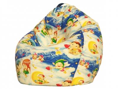 Кресло-мешок XXXL поплин Ангелочки
