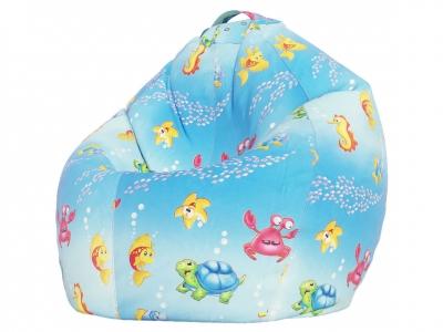 Кресло-мешок XXL поплин Морская сказка