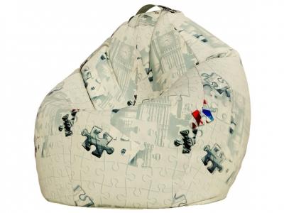 Кресло-мешок XXL поплин Пазлы