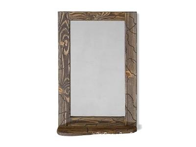 Зеркало №1 с полочкой Ирбея