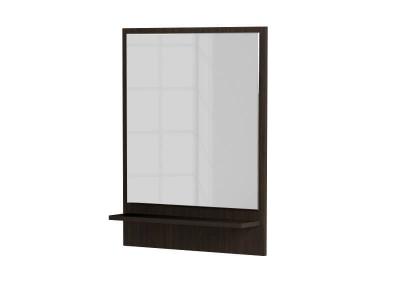 Зеркало на подложке тип-6 дуб венге